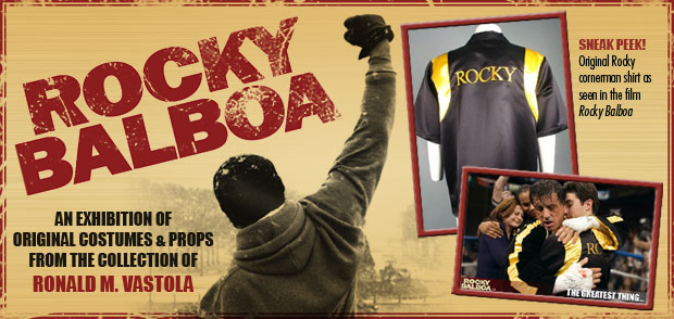 Rocky Balboa Exhibition Click for more details